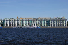 Winter-Palast in St Petersburg Lizenzfreies Stockbild