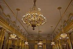 Winter-Palast, St Petersburg Stockfotos