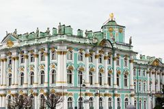 Winter-Palast, St Petersburg, Russland stockfoto