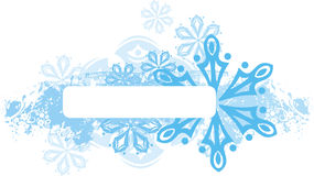Winter panel series Royalty Free Stock Images