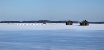 Winter panorama stock photos