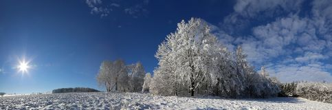 Winter panorama Stock Photography