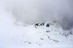 Winter panorama of mountains Stock Image
