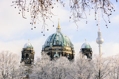 Free Winter Panorama Of Berlin Dom Stock Images - 83482144