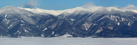 Winter in Mala Fatra mountains, Slovakia Stock Image
