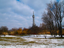 Winter in a parc Royalty Free Stock Images