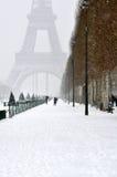 Winter in Paris Stock Image