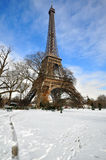 Winter in Paris Royalty Free Stock Photography