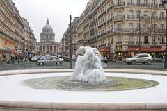 Winter in Paris Stock Images