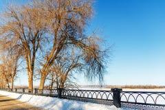 Winter Park στο ανάχωμα Στοκ Εικόνα