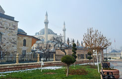The winter park in Konya Royalty Free Stock Photography