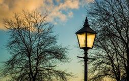 Winter Park Light Royalty Free Stock Image