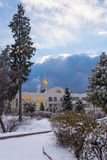 Winter Park, mansion Royalty Free Stock Images