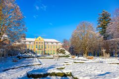 Winter park in Oliwa Stock Photography