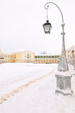 Winter park, Pavlovsk, Saint-Petersburg, Russia Royalty Free Stock Image