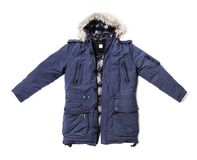 Winter Parka Royalty Free Stock Image
