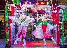Winter parq show in the Linq Las Vegas Stock Photos