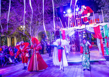 Winter parq show in the Linq Las Vegas Royalty Free Stock Image