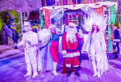 Winter parq show in the Linq Las Vegas Royalty Free Stock Photography