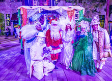 Winter parq show in the Linq Las Vegas Stock Images
