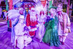 Winter parq show in the Linq Las Vegas Royalty Free Stock Images