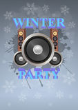 Winter party Royalty Free Stock Photography
