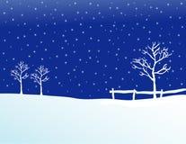 Winter Pasture II Stock Images