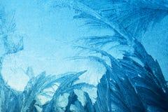 Winter pattern stock photo