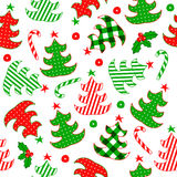 Winter pattern Royalty Free Stock Photo