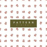 Winter pattern berries. Christmas backgrounds collection. Can be used for wallpaper, pattern fills, surface textures, fabric print. Seamless winter pattern royalty free illustration