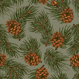 Winter pattern Royalty Free Stock Photography