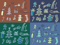 Winter pattern Royalty Free Stock Photos