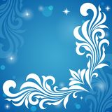 Winter pattern. Royalty Free Stock Photo