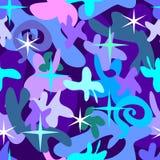 Winter pattern. Jointless pattern.Vector illustration Stock Photos