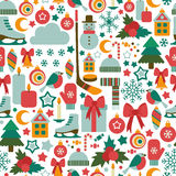 Winter pattern Royalty Free Stock Image
