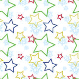 Winter pattern Stock Photos