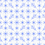Winter pattern Stock Images