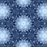 Winter pattern from snowflakes. Background Royalty Free Stock Image
