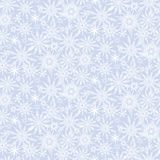 Winter pattern with various falling snowflakes Royalty Free Stock Images