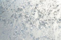 Winter pattern on window Royalty Free Stock Photos
