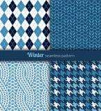 Winter patterns Royalty Free Stock Image