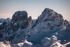 Winter peak Royalty Free Stock Image