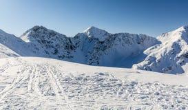 Winter peaks - Rohacze Rohace. royalty free stock photos