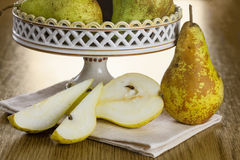Winter pear Royalty Free Stock Images
