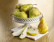 Winter pear Stock Image