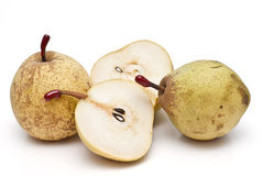 Winter pears isolated. Some winter pears isolated on a white background Stock Images