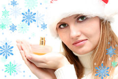 Winter perfume Stock Photography