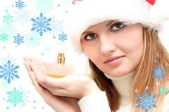 Winter perfume Stock Photography