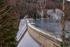The dam - Krimov Stock Image