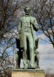 Standing Lincoln Frontal View royalty free stock image